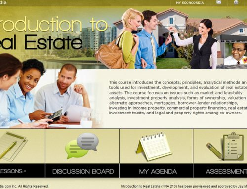 FINA 210 – Introduction to Real Estate