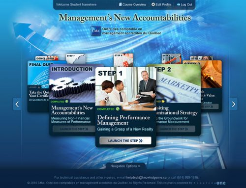 Management's New Accountabilities